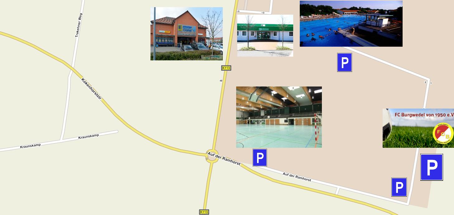 Ramhorst Karte