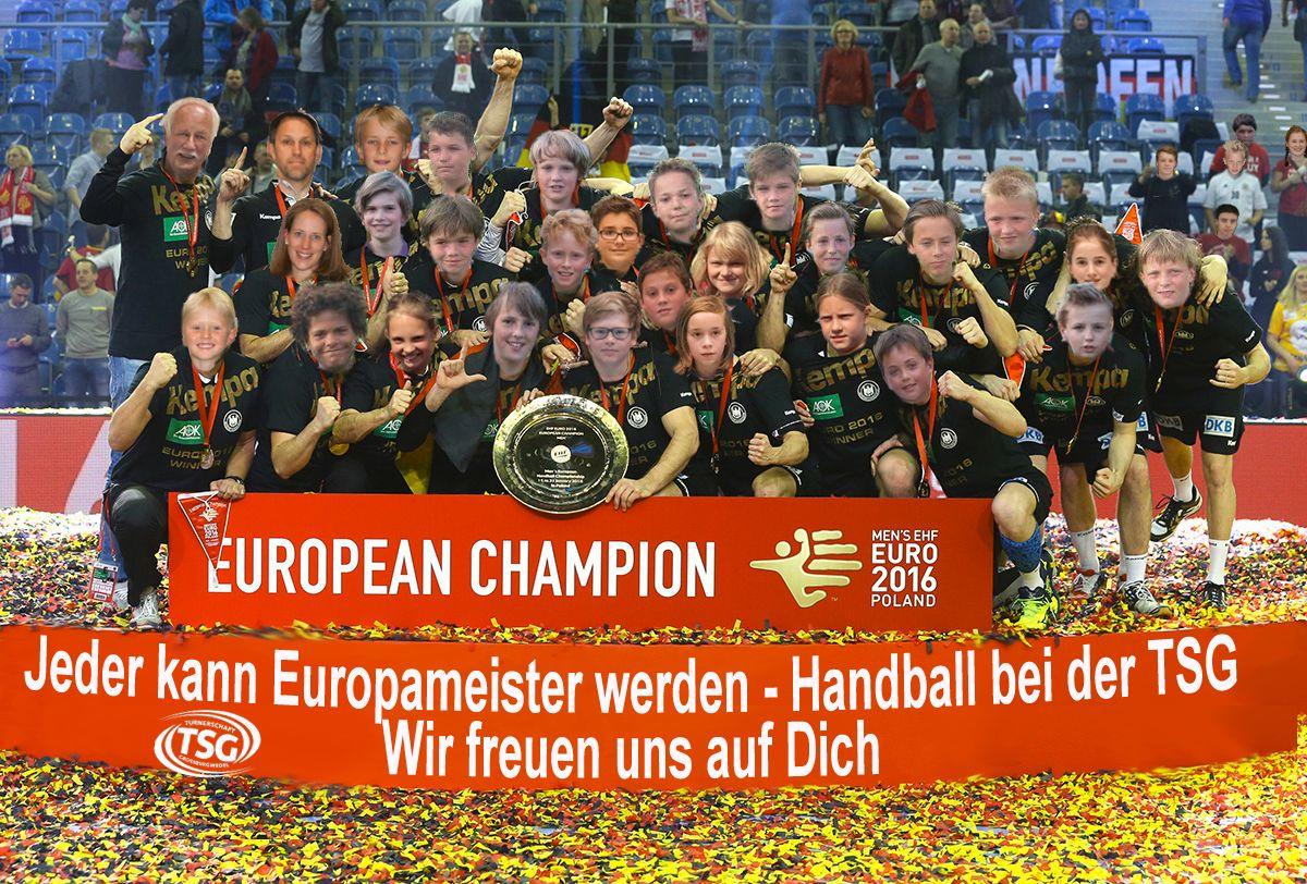 Jeder kann Europameister werden